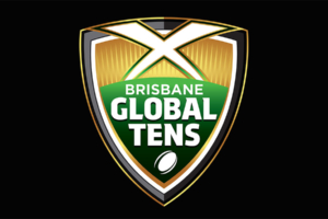 Brisbane Global Tens international sports branding designed by Angle Limited, Auckland