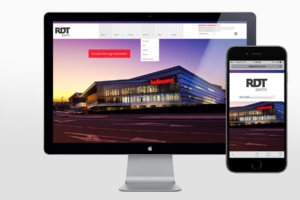 RDT Pacific responsive website design by Angle Limited