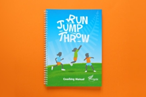 Angle Limited Auckland Run Jump Throw branding and training programme resources designed for Athletics New Zealand