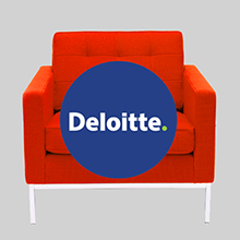 Angle Red Chair Rob Eden, Senior HR Advisor, Deloitte NZ