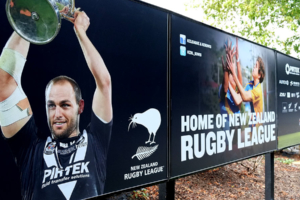 New Zealand Rugby League billboards designed by Angle