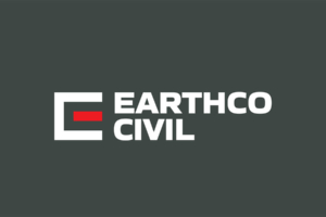 Brand creation Earthco Civil logo design