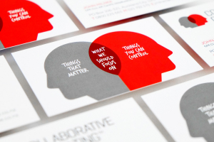 Collaborative Consulting brand and business cards designed by Angle Limited