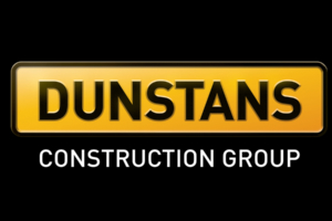 Dunstans Construction Group brand and logo designed by Angle Limited