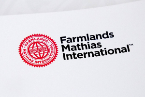 Farmlands Mathias International branding and logo by Angle Limited