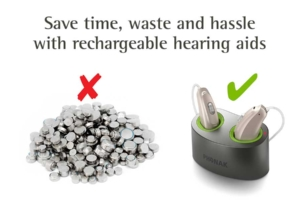 Facebook advertising creative solution by Angle Limited Auckland for Phonak rechargeable hearing aids