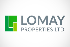 Lomay Properties Limited startup branding designed by Angle Limited, Auckland