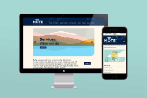 Responsive website design and development mote website by Angle Limited