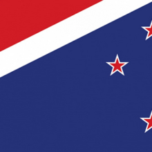 Simplified Blue Ensign flag designed by Rob Holloway