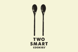 Startup brand logo designed by Angle Limited for Two Smart Cookies