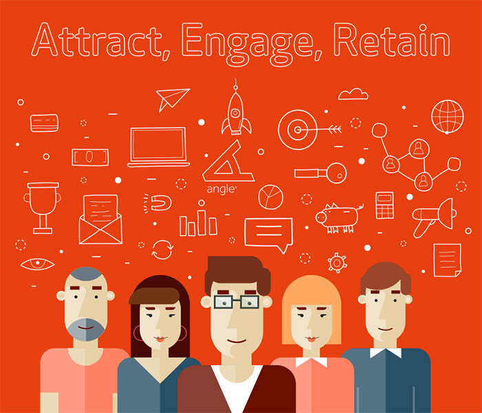 Angle Limited Attract, Engage, Retain emerging talent image