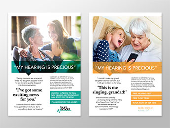 Angle Limited Auckland Advertising services Press advertising example for Phonak