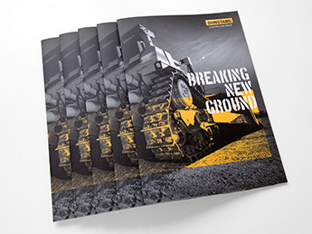 Angle Limited Auckland Brochure & flyer design services Dunstans brochure example