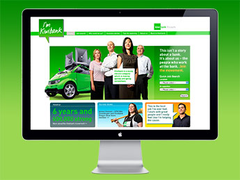 Angle Limited Auckland Employer branding services Careers websites Kiwibank careers website example