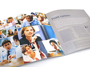Angle Limited Auckland Employer branding services Recruitment brochures Barclays bank example
