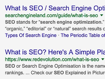 Angle Limited Auckland Search Engine Optimisation service Google Search result example