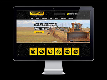 Angle Limited Auckland Website design services Dunstans responsive website design example