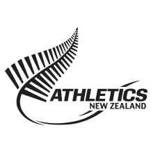 Athletics New Zealand logo client of Angle Limited branding agency Auckland