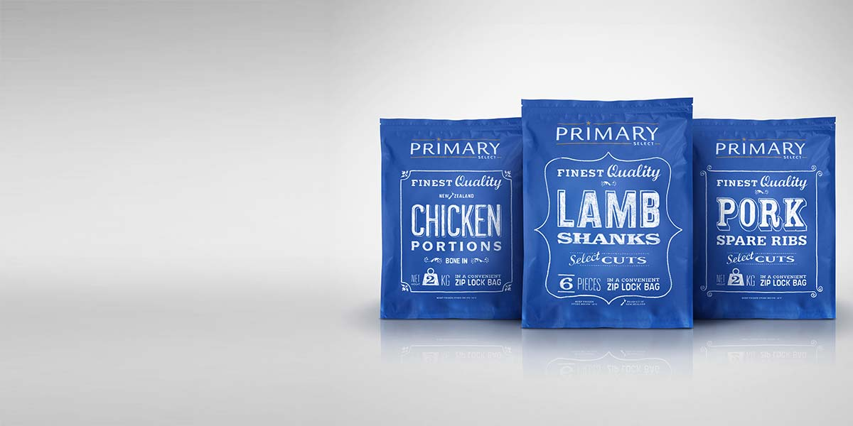 Packaging design Angle Limited Auckland Primary Select packaging
