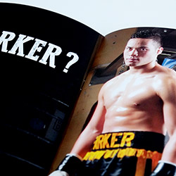 Joseph Parker sponsorship proposal designed by Angle Limited