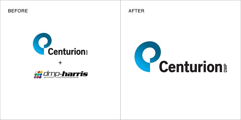 Rebranding by Angle Limited Auckland for Centurion Print