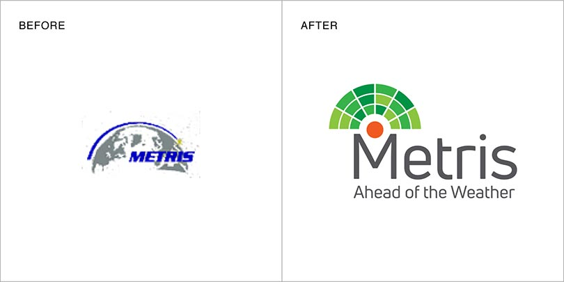 Rebranding by Angle Limited Auckland for Metris New Zealand