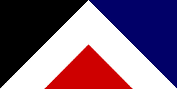Red Peak flag design by Aaron Dustin